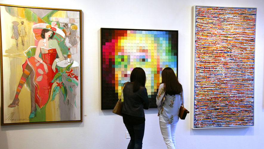 Inauguración de galería de arte de Marcela Arana | Mayo 2018