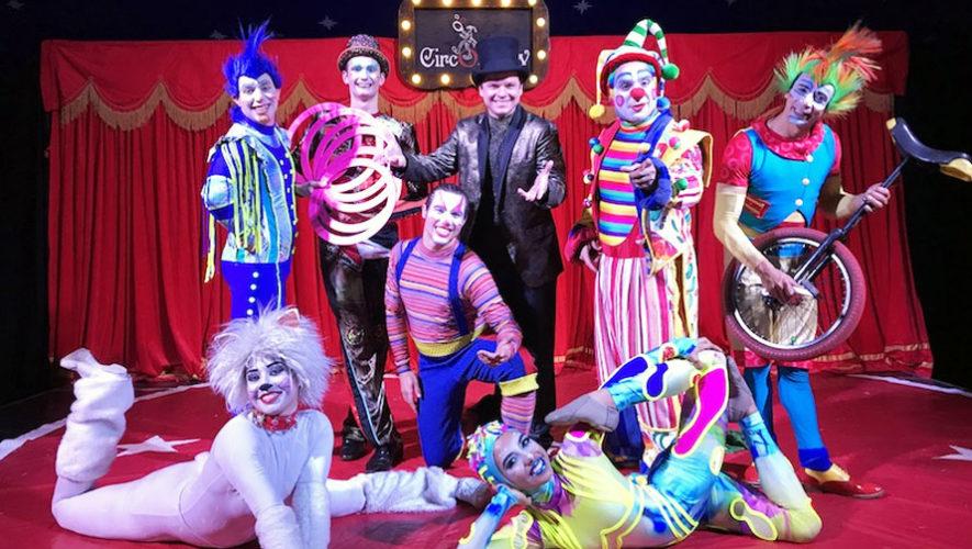 Celebración del Día Mundial del Circo en Guatemala | Abril 2018