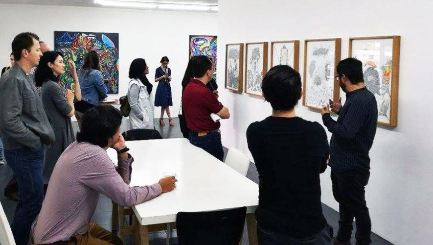 Inauguración de exposición de pintura contemporánea   Abril 2018