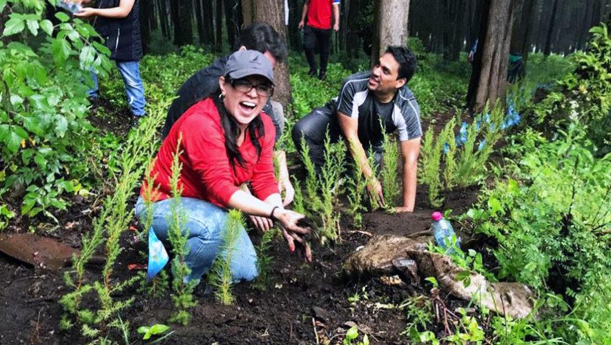 Jornada de reforestación en Finca Florencia | Abril 2018