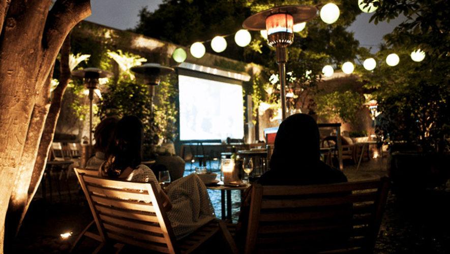 Cine gratuito al aire libre en Guatemala | Abril 2018