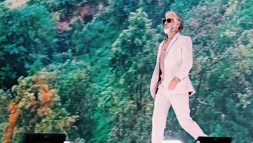 Festival ecológico Fashion Show Saúl