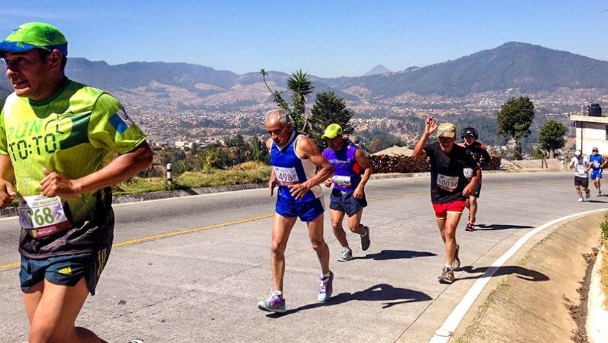 Carrera 10K: XVI Ascenso a Chuicaxtún en Totonicapán | Abril 2018