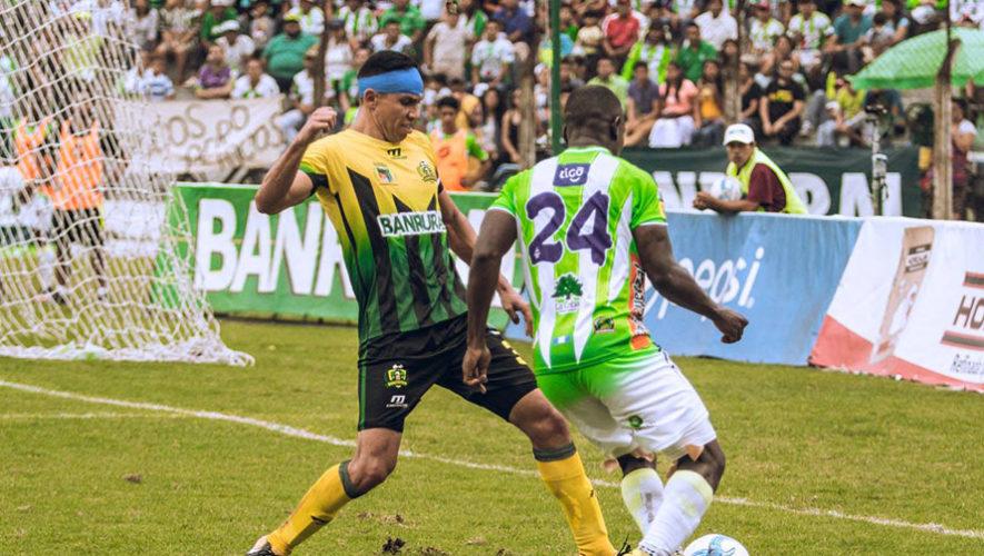 Partido de Antigua y Guastatoya por el Torneo Clausura | Abril 2018
