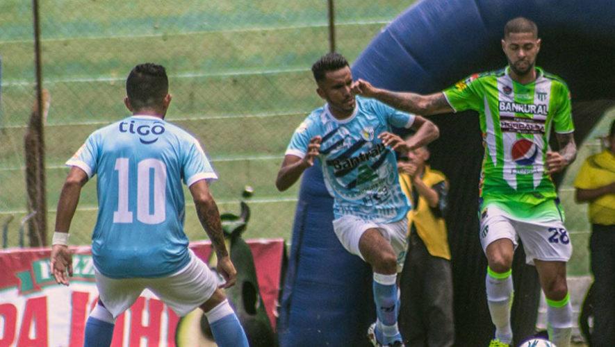 Partido de Antigua y Sanarate por el Torneo Clausura | Abril 2018