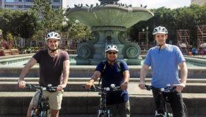 Tour en bicicleta por las plazas de la Ciudad de Guatemala | Abril 2018