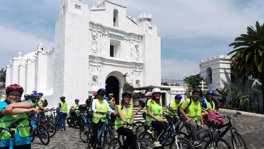 Tour en bicicleta por vías del ferrocarril y Ciudad de Guatemala | Mayo 2018