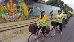 Tour en bicicleta por las vías del ferrocarril    Abril 2018