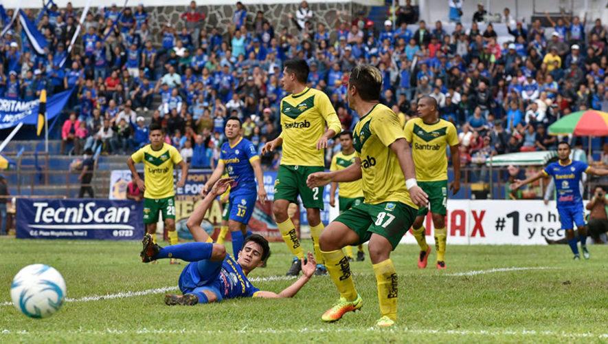 Partido de Cobán y Petapa por el Torneo Clausura | Abril 2018