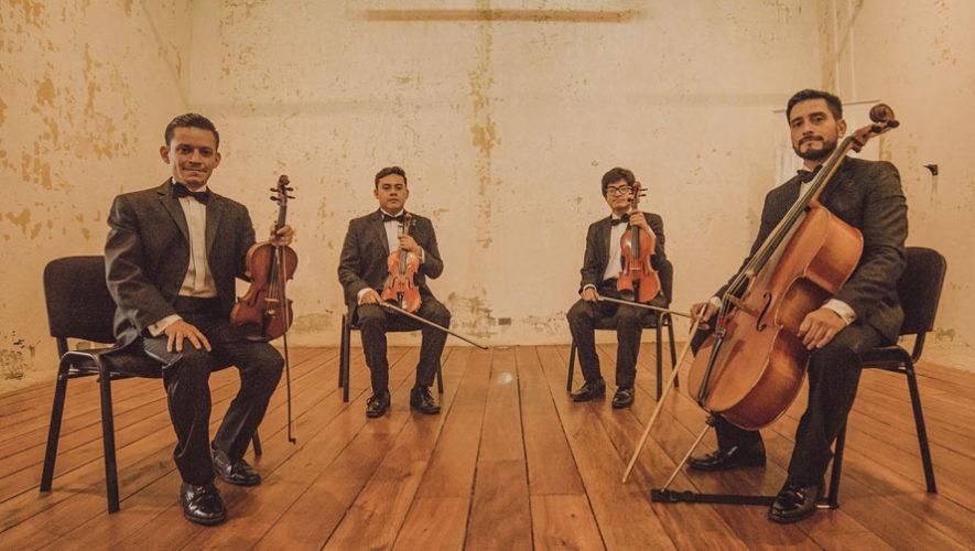 Concierto de Cuarteto Asturias en Casa Celeste | Mayo 2018