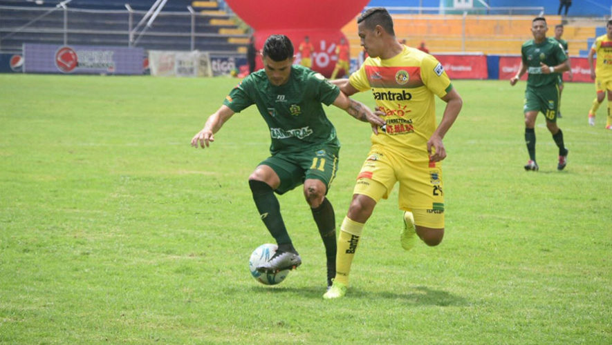 Partido de Guastatoya y Marquense por el Torneo Clausura | Abril 2018