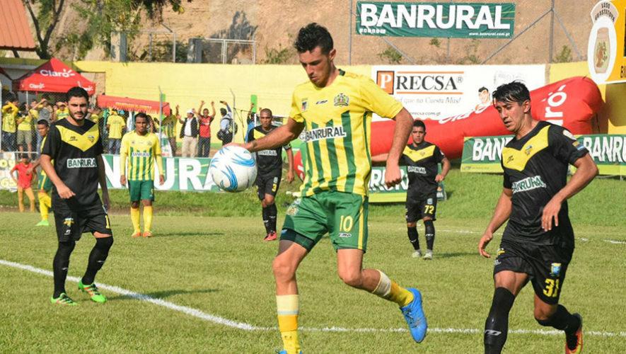 Partido de Guastatoya y Petapa por el Torneo Clausura | Abril 2018