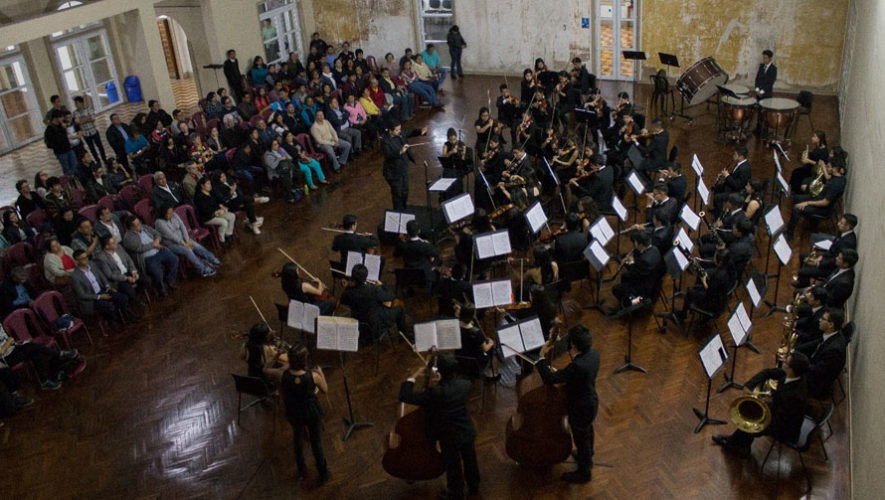 Concierto gratuito de la Orquesta Sinfónica Juvenil Municipal | Mayo 2018