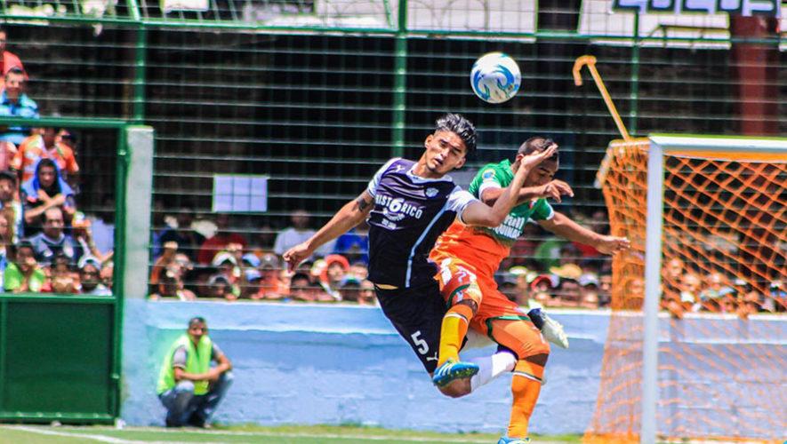 Partido de Siquinalá y Comunicaciones por el Torneo Clausura | Abril 2018