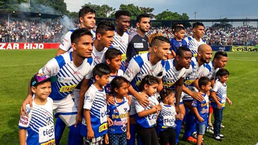 Partido de Suchitepéquez y Cobán por el Torneo Clausura | Abril 2018