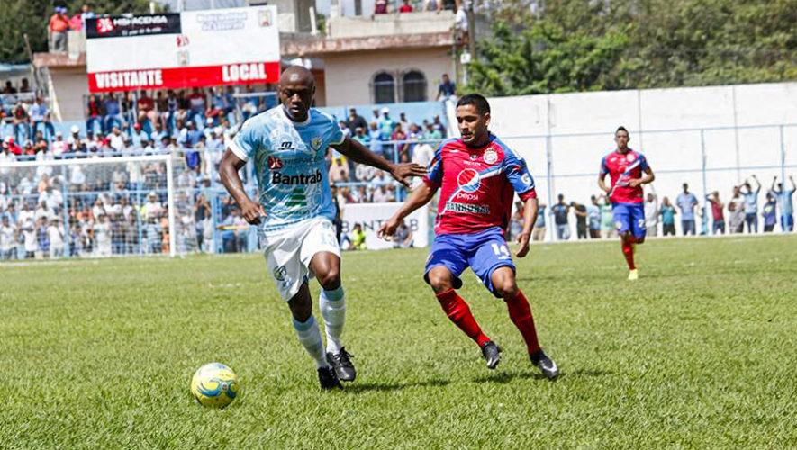 Partido de Xelajú y Sanarate por el Torneo Clausura   Abril 2018