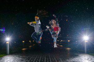 (Fotografía extraída de: Demostración de clases de baile de la compañía Heroes Company)