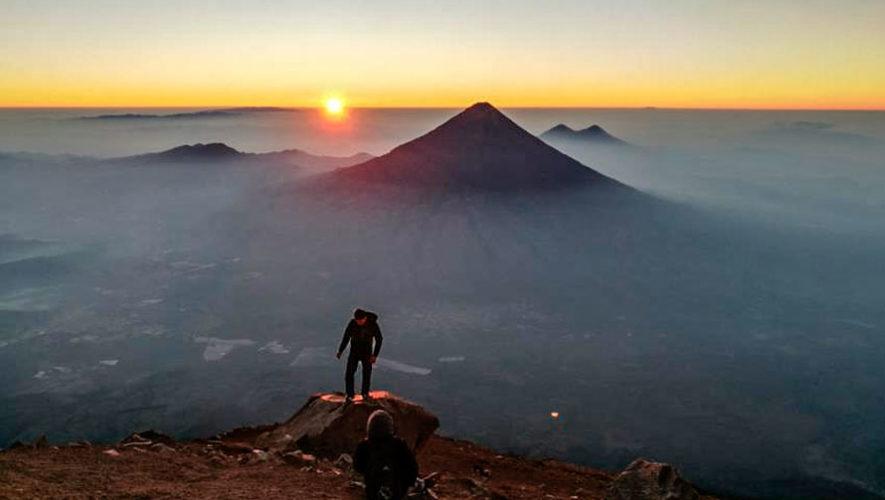 Ascenso nocturno al volcán Acatenango | Mayo 2018