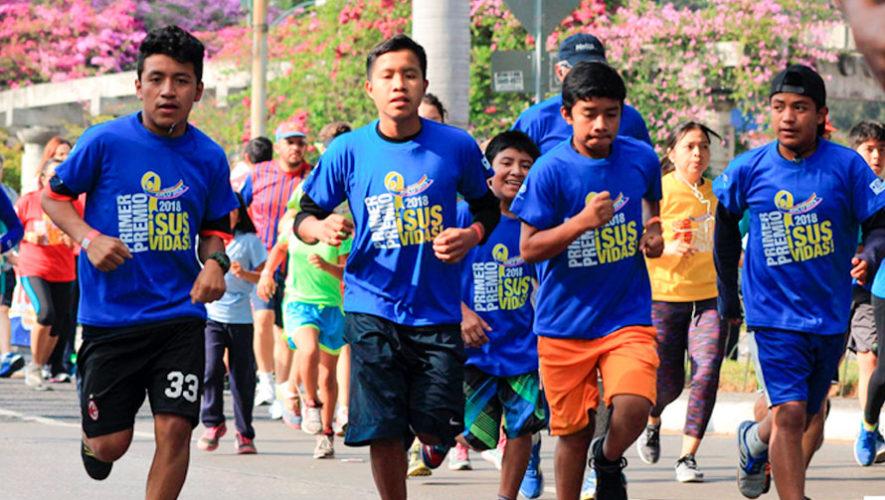 Carrera 5K ¡Que Vivan los Niños! en Quetzaltenango | Junio 2018