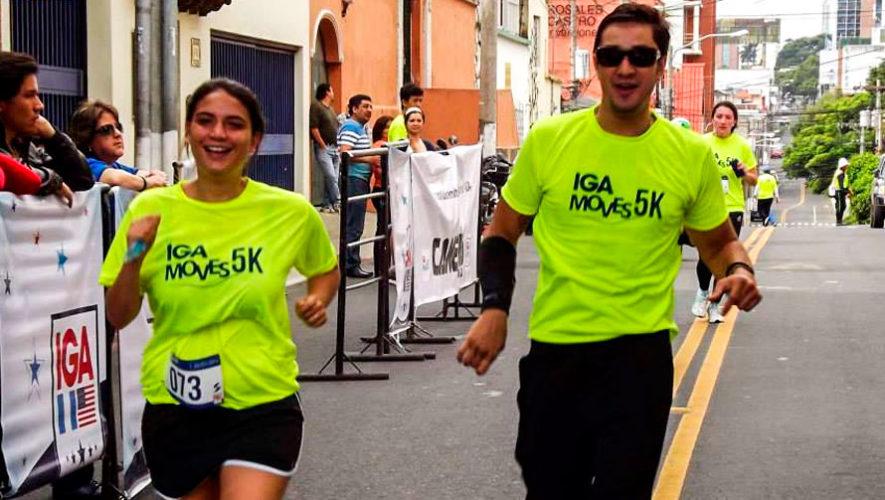 Carrera 5K IGA Moves en la Ciudad de Guatemala | Mayo 2018