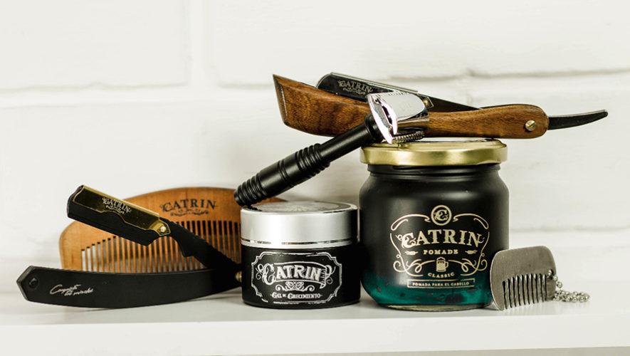 Catrin Barber Shop resalta en Guatemala por sus productos para el cabello