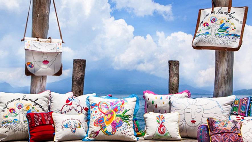 Corazón de Volcán, productos artesanales hechos a mano con textiles reciclados