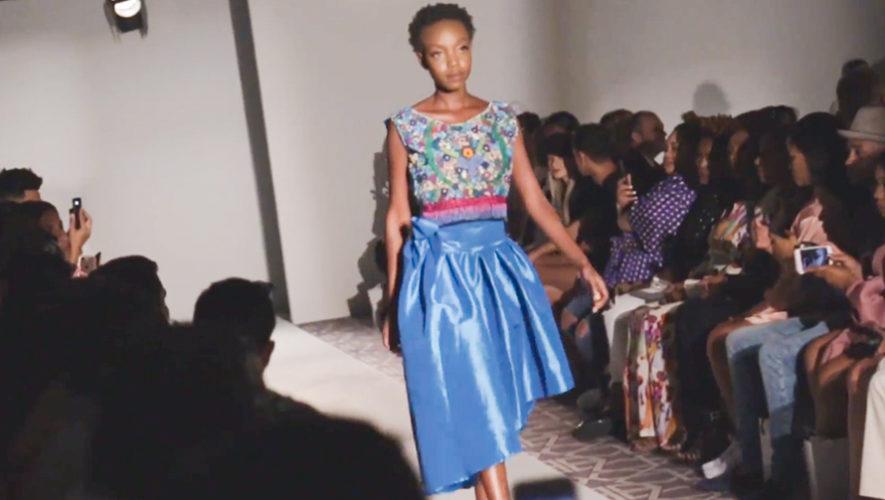 Diseñadora guatemalteca Owana Lima participó en la Fashion Week New York 2018