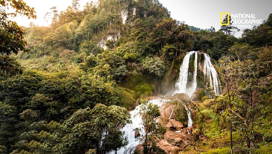 Foto de la Catarata Santa Avelina en Quiché fue compartida en NatGeo