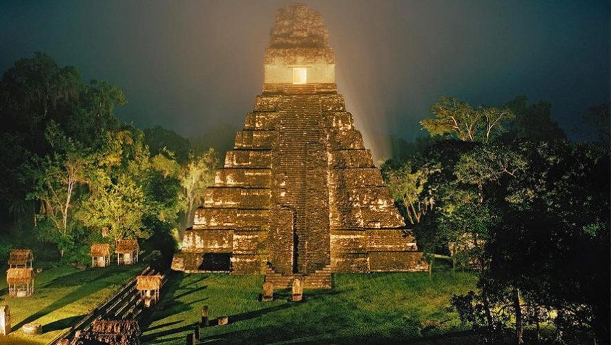 Foto del Parque Nacional Tikal fue publicada en National Geographic