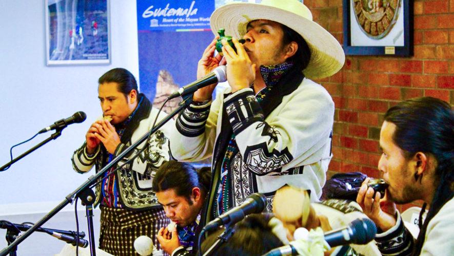 Grupo Sotz'il representó a Guatemala en una universidad de California