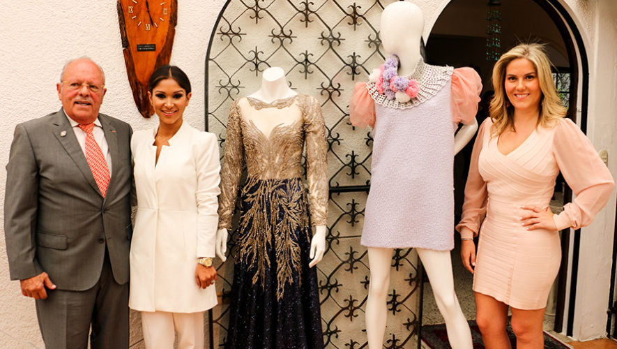 Guatemaltecas Mariandrée Gaitán y Thelma Espina en Fashion Week de Montecarlo 2018