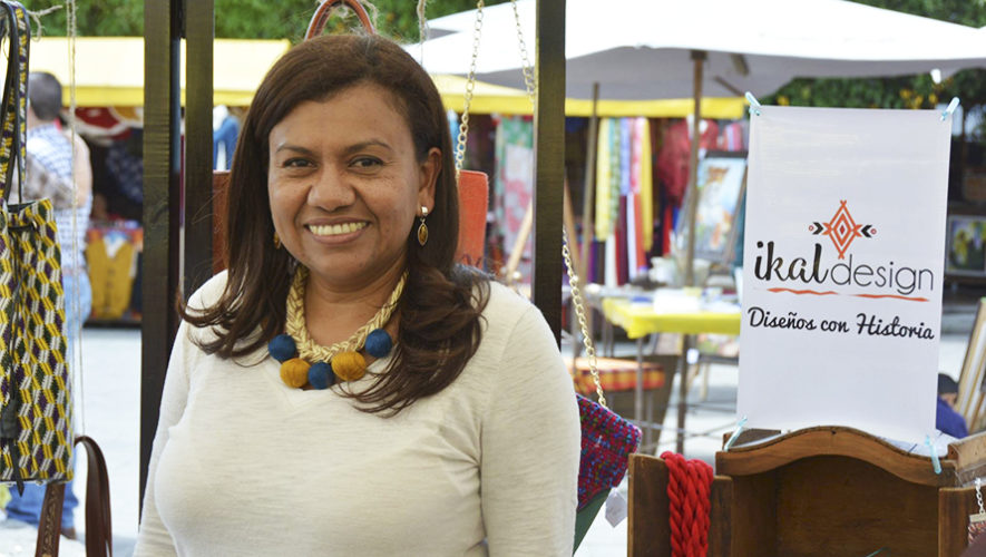 Ikal Design, empresa que fabrica productos con telas de Guatemala