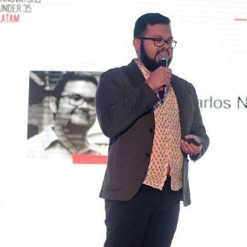 Juan Carlos Noguera innovador menor de 35 años de Latinoamérica 2017