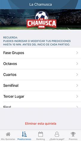 """Lanzan """"La Chamusca"""", App de quinielas con 200 grandes premios"""