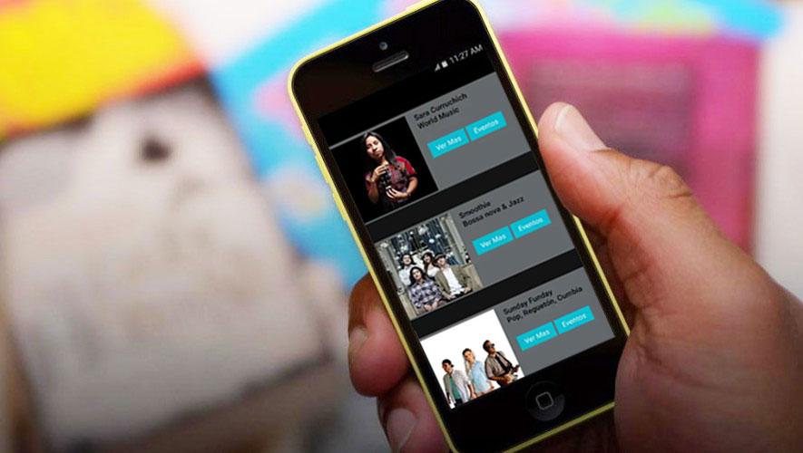 Live Music Guate: la aplicación que promueve la música guatemalteca