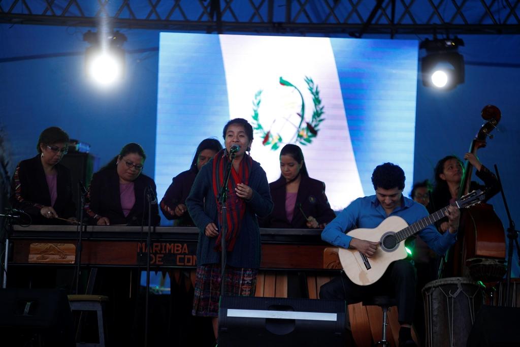 Gala de independencia en el Centro Cultural Miguel Ángel Asturias
