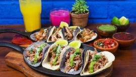 tortillas de colores en Guatemala