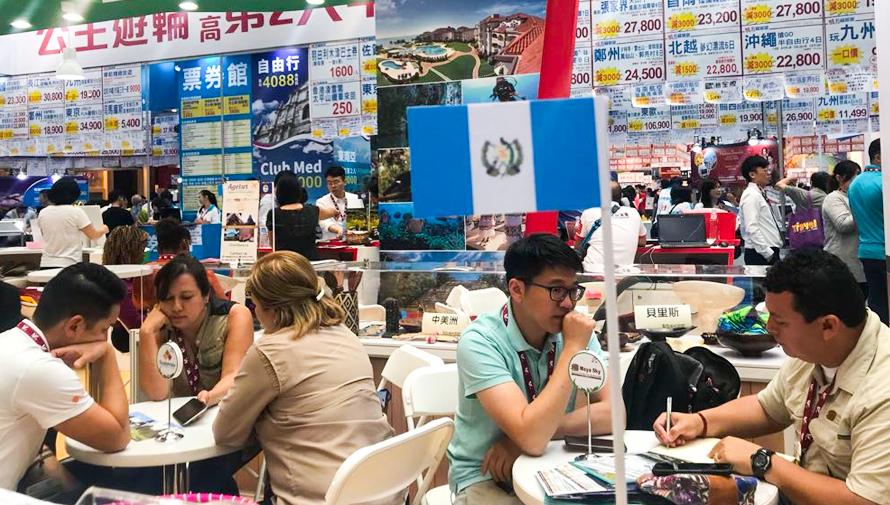 Promocionan a Guatemala como destino turístico Taipei Tourism Expo