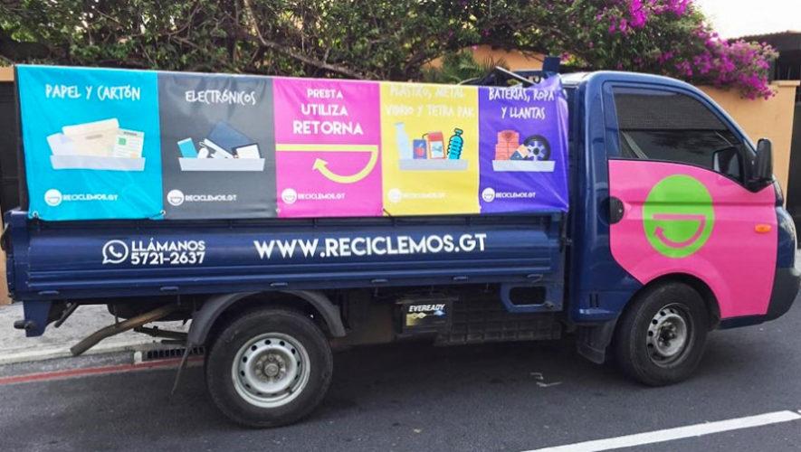 Reciclemos GT, el servicio de reciclaje a domicilio en Guatemala