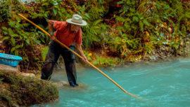 Río Azul en Huehuetenango es uno de los más cristalinos de Guatemala