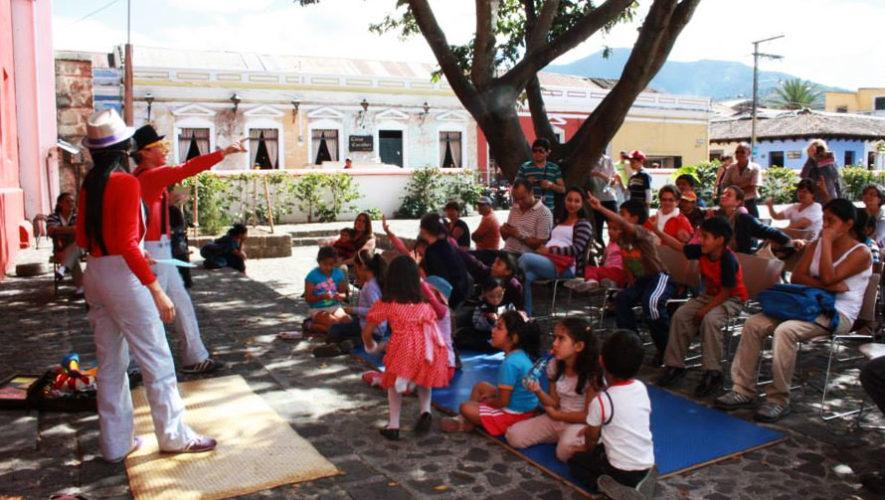 Etz'Anem, teatro infantil con cuentos y música en Antigua | Mayo 2018