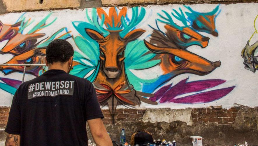 Bonito Mi Barrio, Festival de murales en vivo en Guatemala | Abril 2018