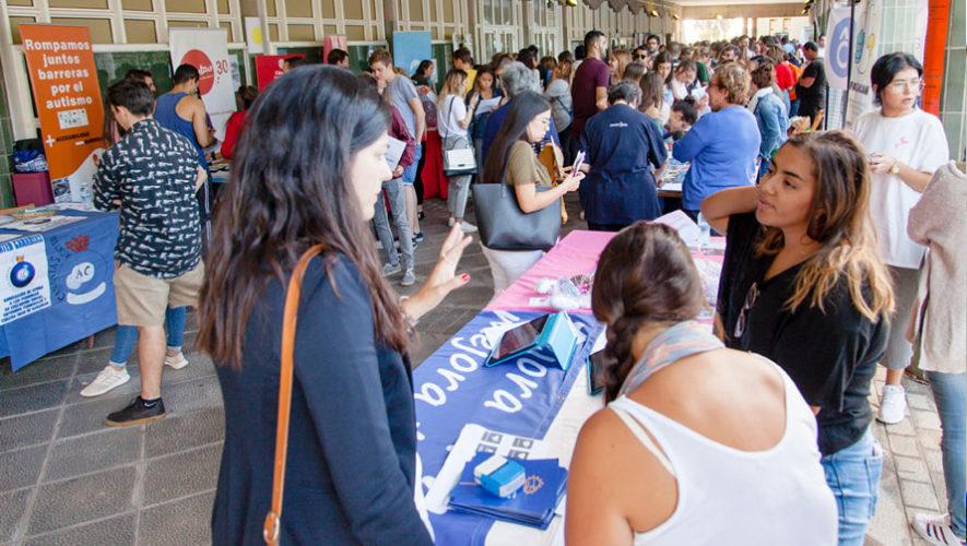 Feria de voluntariado en la USAC | Mayo 2018