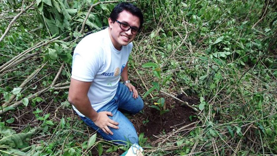 Competencia de reforestación en Amatitlán | Junio 2018