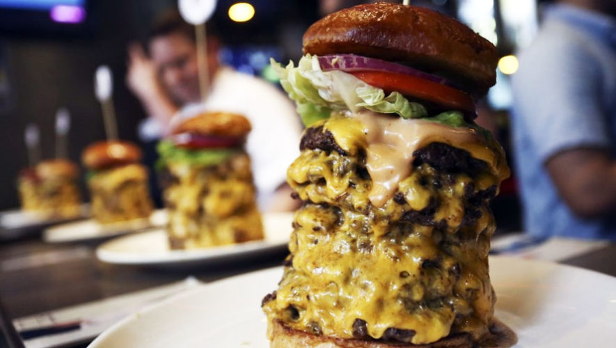 Burger Town, festival de hamburguesas en Guatemala   Mayo 2018