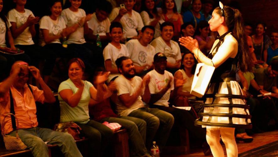 Obra de teatro: Mercancía de Primera en Guatemala   Mayo 2018
