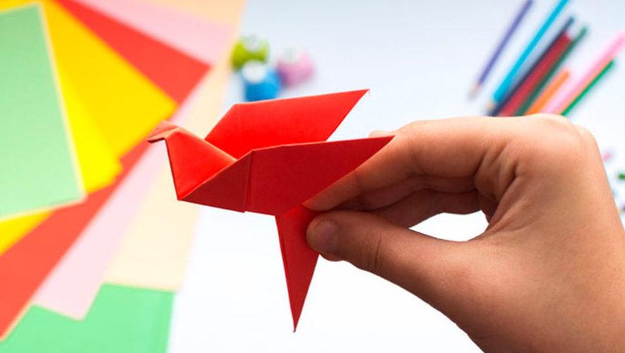 Taller gratuito de origami en el Festival Cultural Paseo de la Sexta   Mayo 2018
