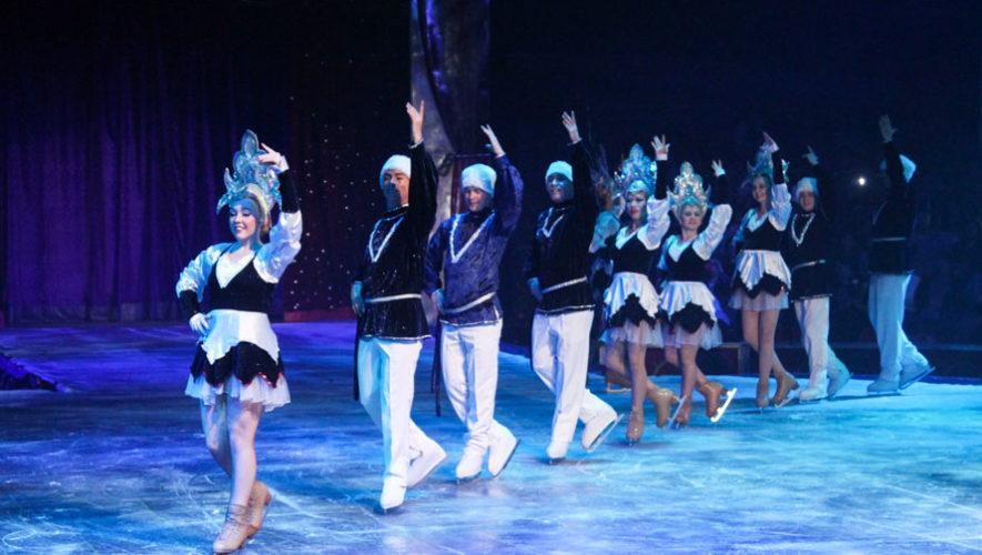 Show ruso de patinaje sobre hielo   Junio 2018