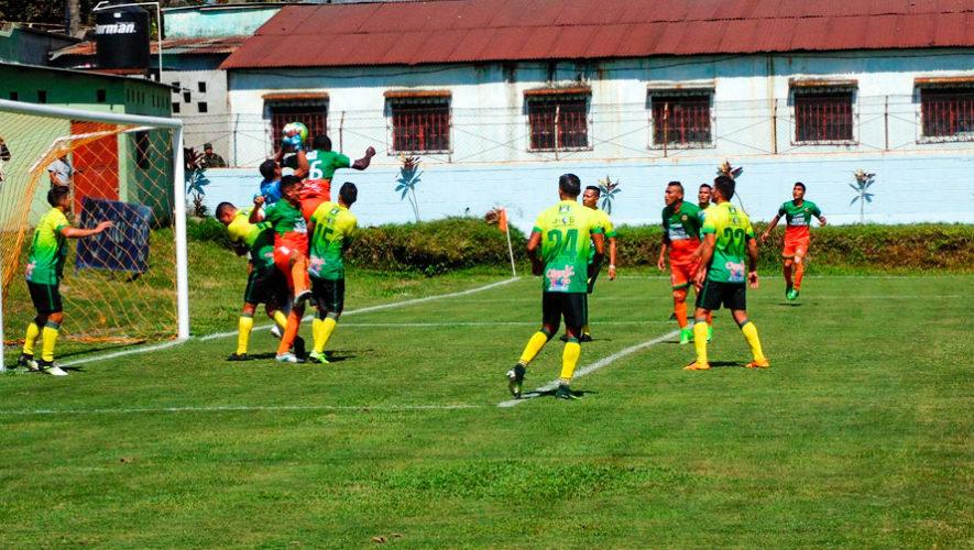 Partido de Siquinalá vs. Guastatoya, cuartos de final del Torneo Clausura | Mayo 2018