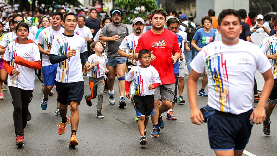 30 Carrera del Día Olímpico en Guatemala | Junio 2018